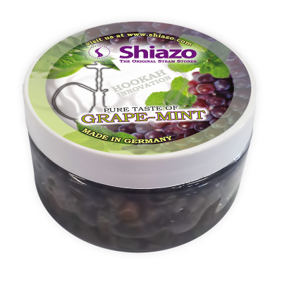 Shiazo Steam Stones - 100g - Grape-Mint