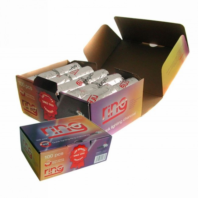 Cheaper Price One Time Aluminium Foil Instant Charcoal