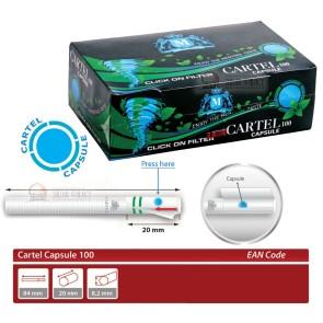 Cartel Capsule 100 Click Menthol - 100 Stk.
